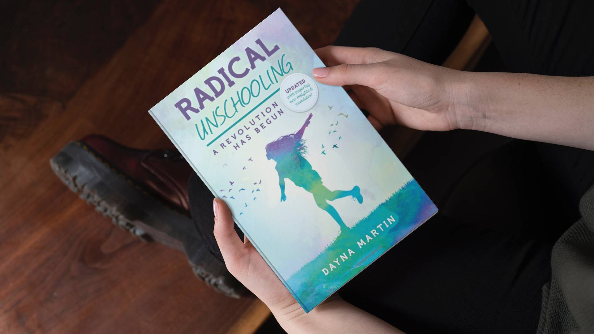 Radical Unschooling Holding in Hands
