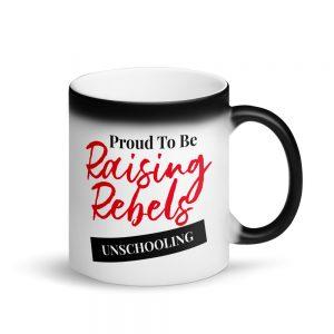 Matte Black Magic Mug – Raising Rebels