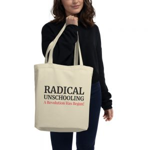 Oyster Eco Tote Bag – Radical Unschooling