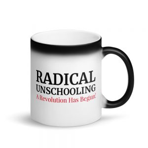 Matte Black Magic Mug – Radical Unschooling