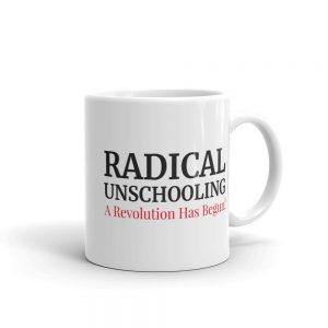 White Gloss Mug – Radical Unschooling