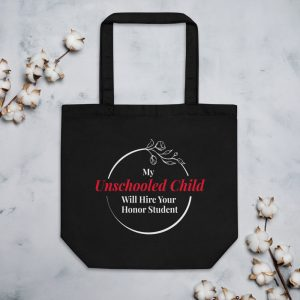 Black Eco Tote Bag – My Unschooled Child