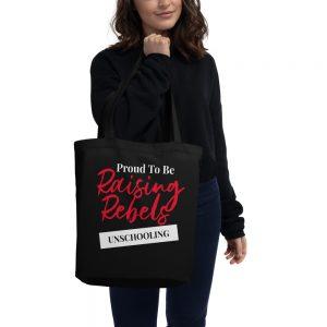 Black Eco Tote Bag – Raising Rebels