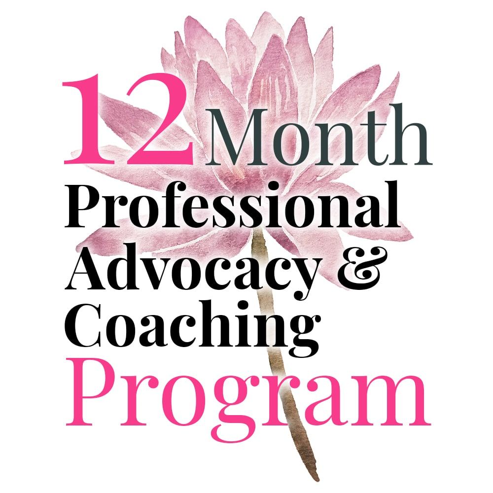 12-Month Professional Advocacy & Coaching Program